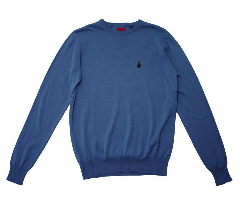 Свитер Luke Gerards Crew Neck Blue