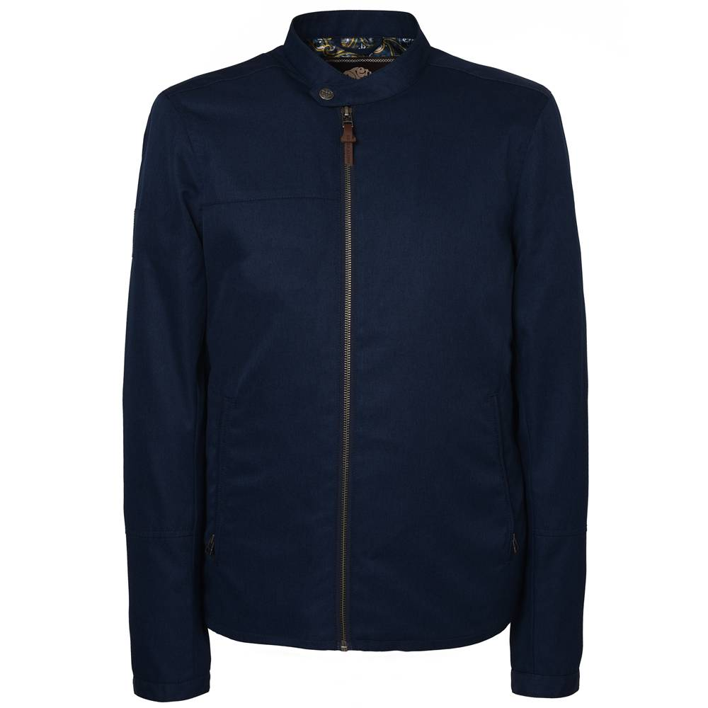 Pretty Green Ettrick Jacket In Navy