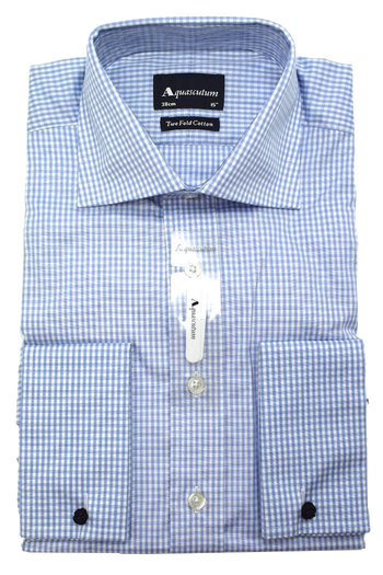 Рубашка Aquascutum Canterbury Formal Blue Check