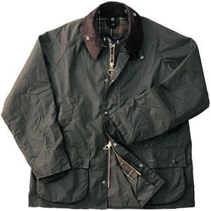 Barbour Classic Bedale Waxed Jacket in Olive