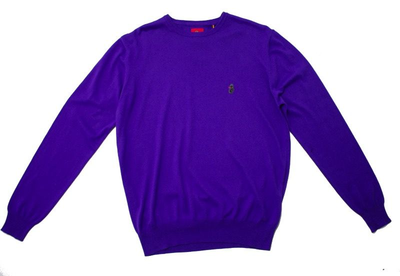 Свитер Luke Gerards Crew Neck Purple