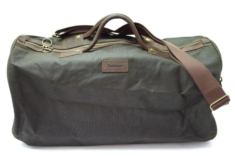 Сумка Barbour Wax Cotton Holdall Olive