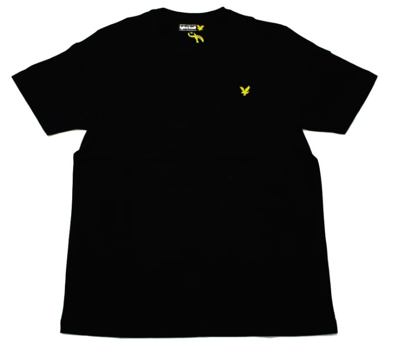 Футболка Lyle & Scott Vintage Crew Neck Jersey True Black