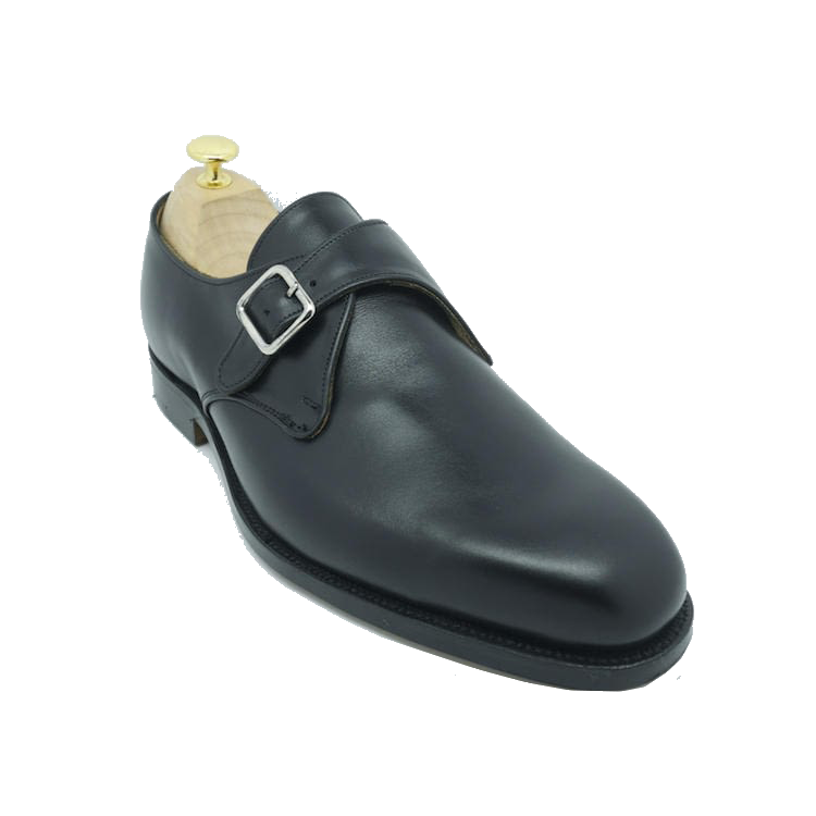 Туфли Tricker's Mayfair Monk Black Calf