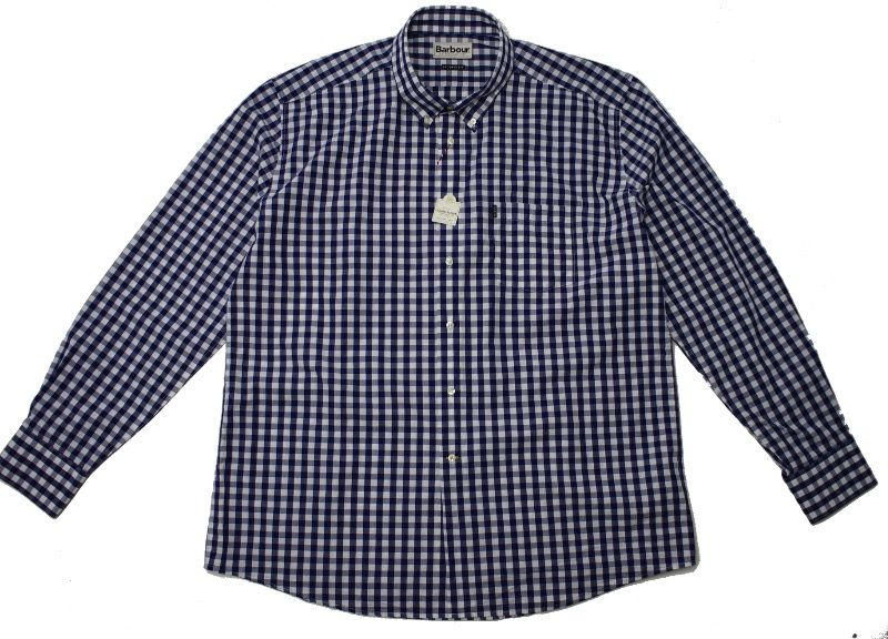 Рубашка Barbour Auton Checked Navy