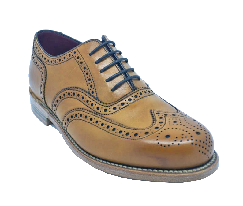 Loake Ladies VIV Brogue in Tan