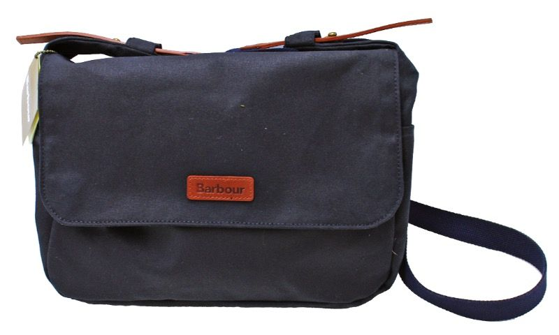 Сумка Barbour Wax Floral Bloom Messenger Navy
