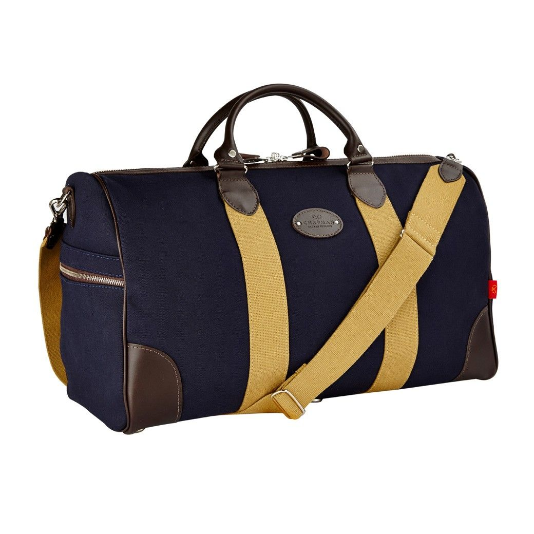 Chapman Flight Holdall Bag in Navy