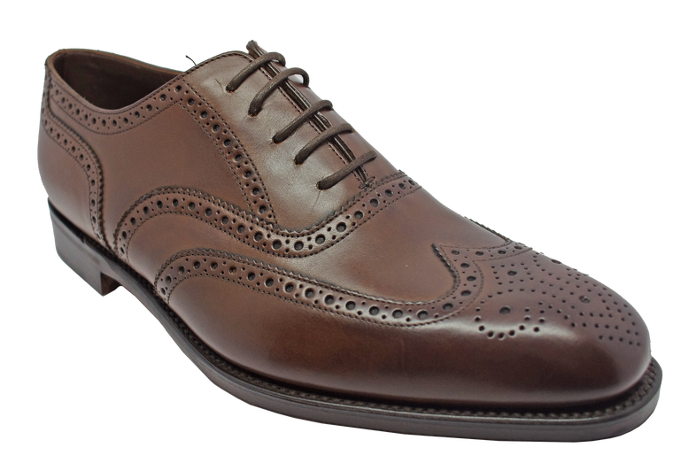 Броги Loake Buckingham Dark Brown