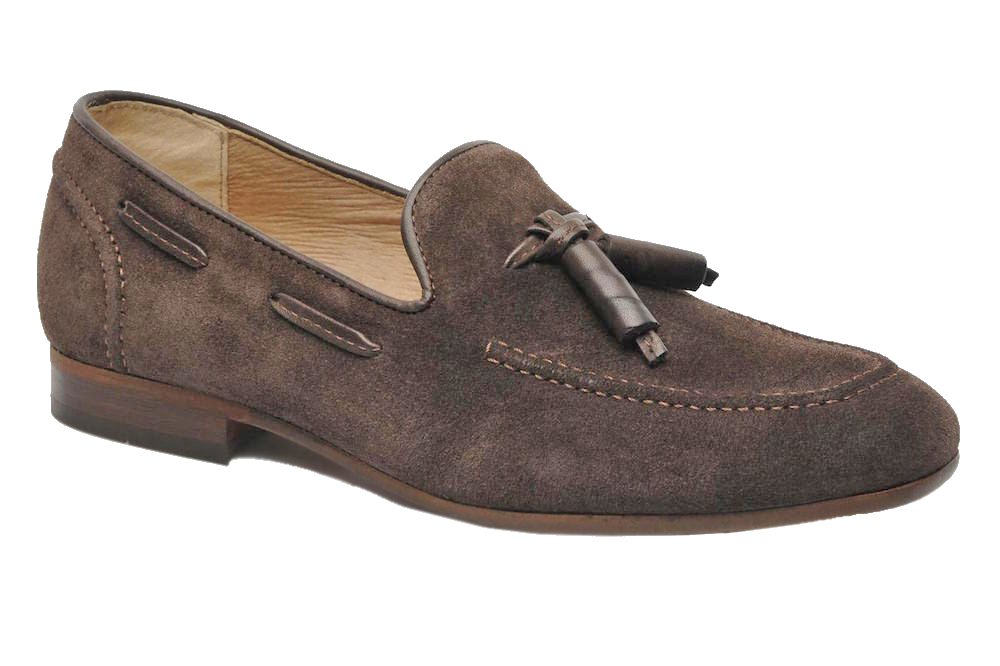Туфли Hudson Pierre Suede Tassel Brown