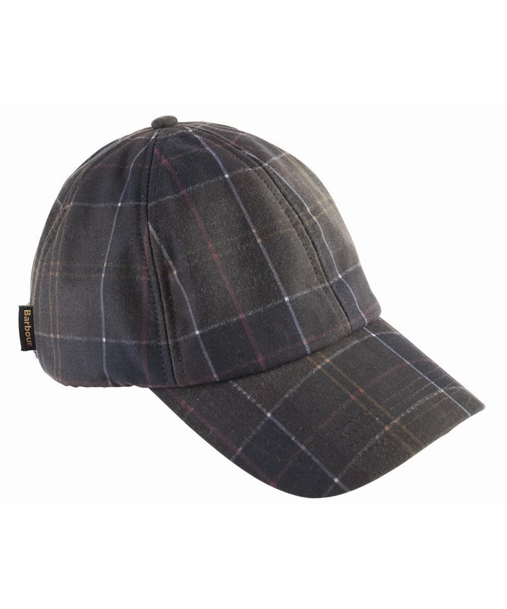 Кепка Barbour Wax sports Tartan