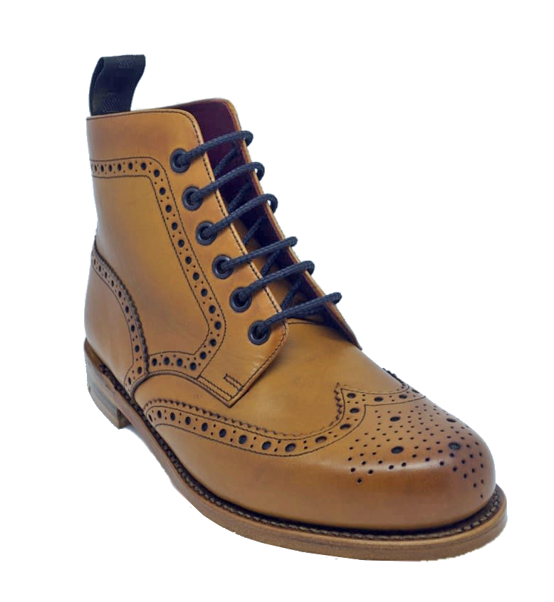 Ботинки Loake Ladies Anne Brogue Boot Tan