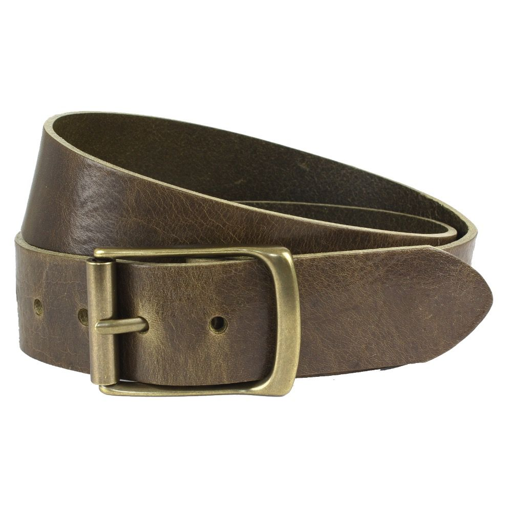 Ремень The British Belt Company Rollerston Olive