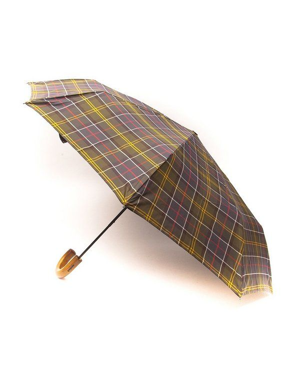 Зонт Barbour Tartan Telescopic