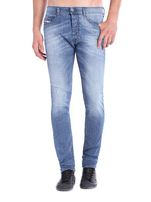 Джинсы Diesel Tepphar Stonewashed Slim Taper Fit Denim