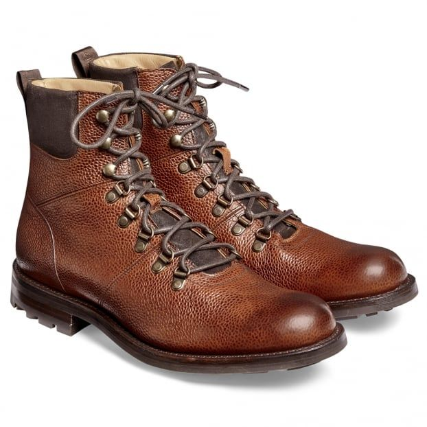 Ботинки Cheaney Ingleborough B Hiker Leather Mahogany Grain