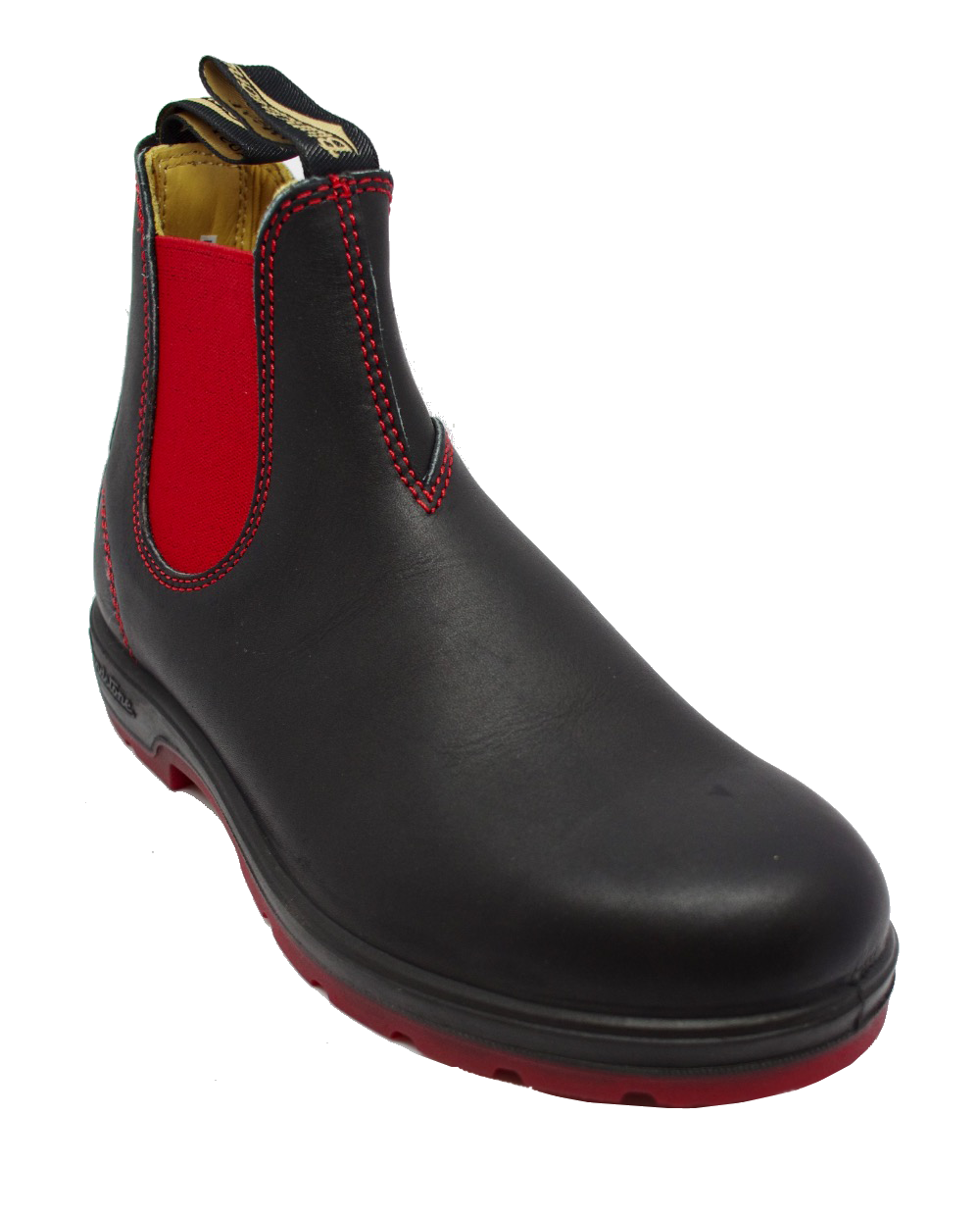 Ботинки Blundstone 1316 Chelsea Black Red Sole
