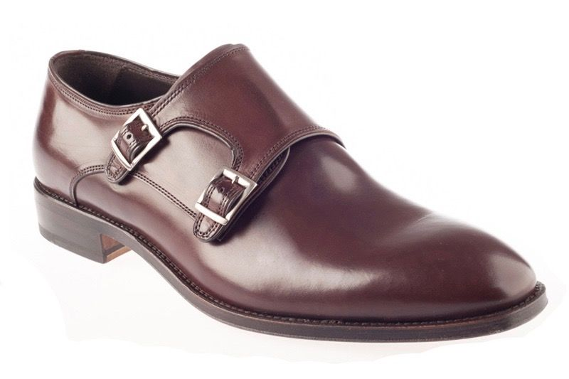 Туфли John White Ripon Calf Double Monk Brown