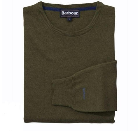 Свитер Barbour Essential Lambswool Olive