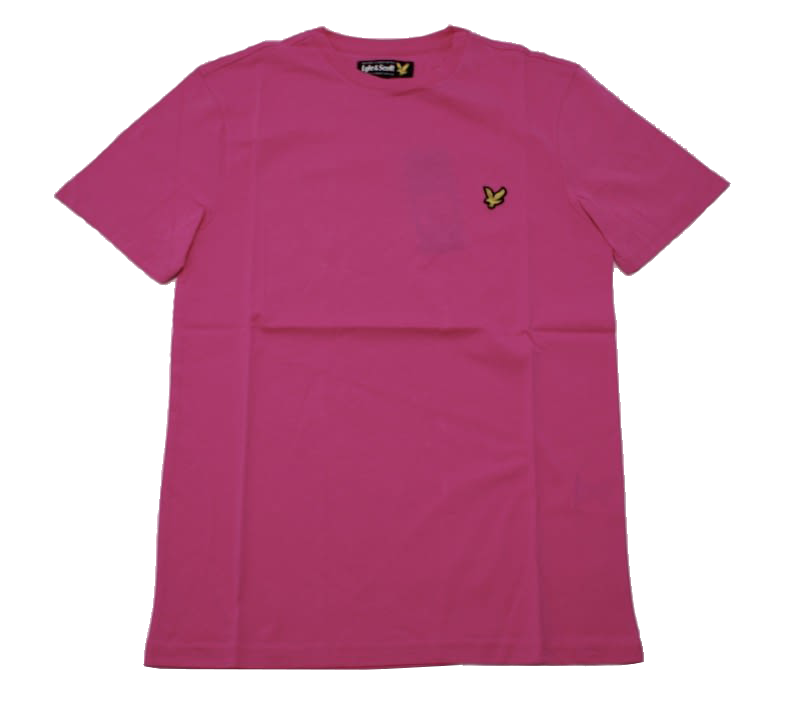 Футболка Lyle & Scott Vintage Crew Neck Jersey Hot Pink