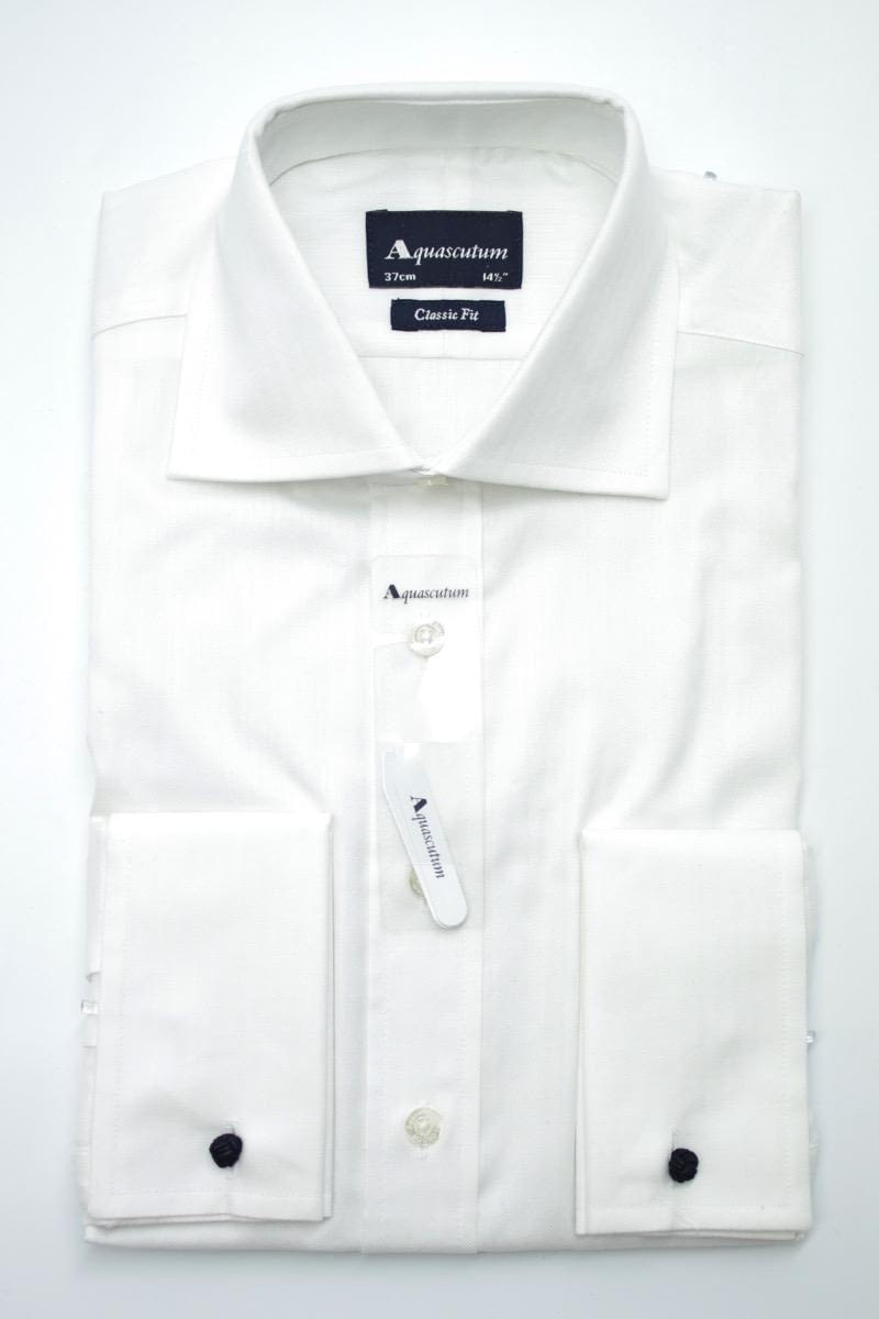Рубашка Aquascutum Canterbury Twill Formal White