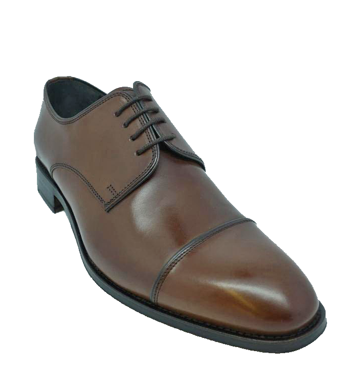 Туфли John White Finsbury Capped Lace Up Brown Calf