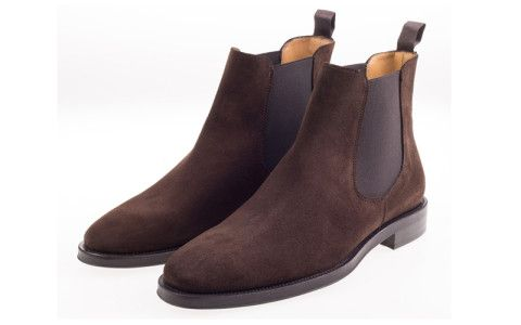 Ботинки Челси John White Portchester Suede Brown