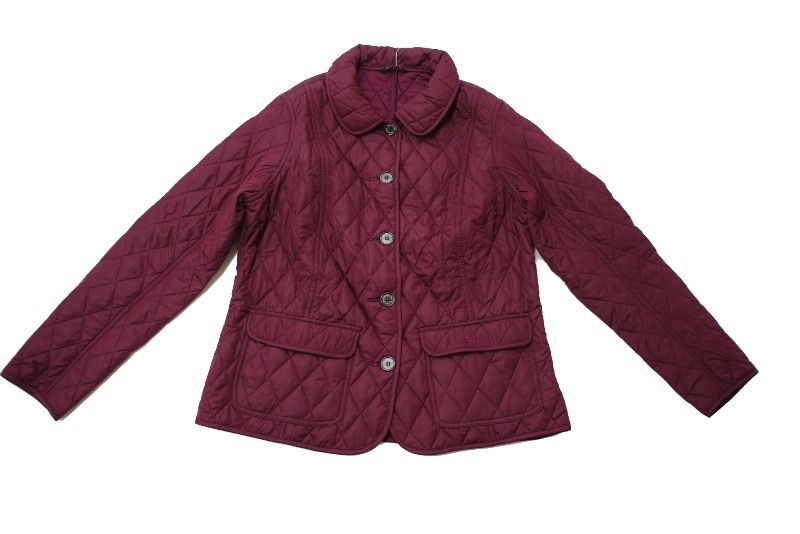 Куртка Barbour Bower Quilted Bordeaux