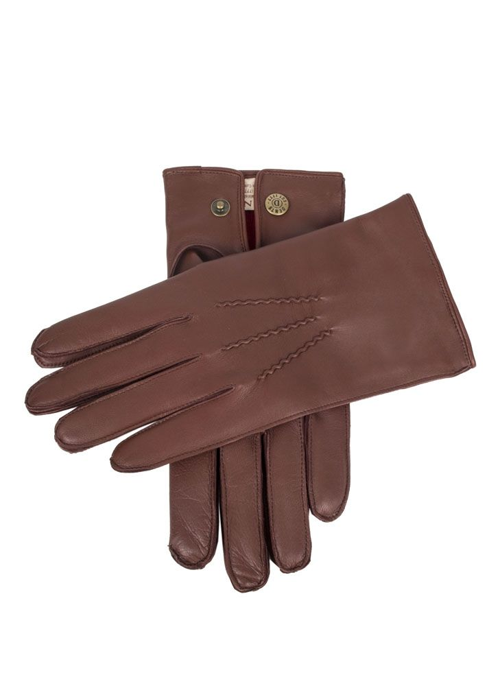 Dents Cashmere Lined Hairsheep Leather Gloves In Tan