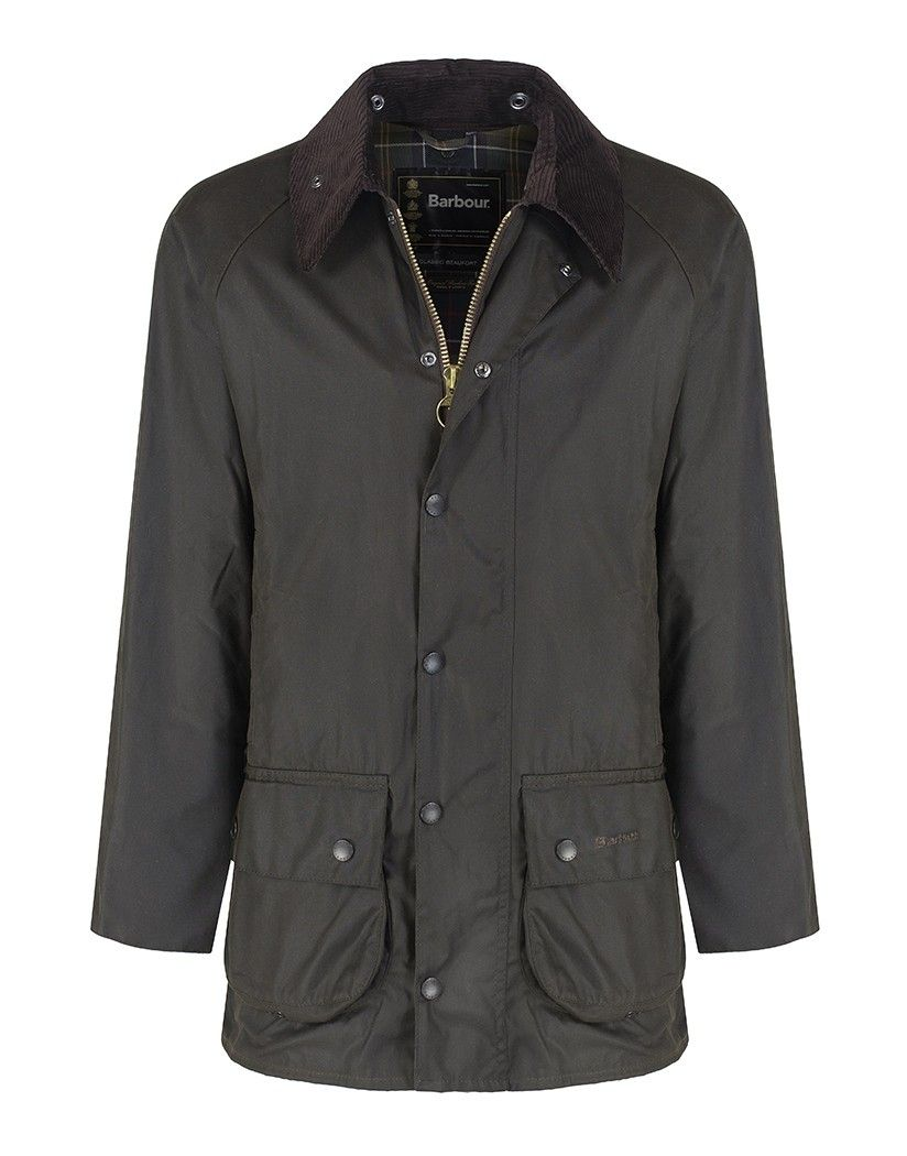 Куртка BARBOUR CLASSIC BEAUFORT SYLKOIL WAX OLIVE