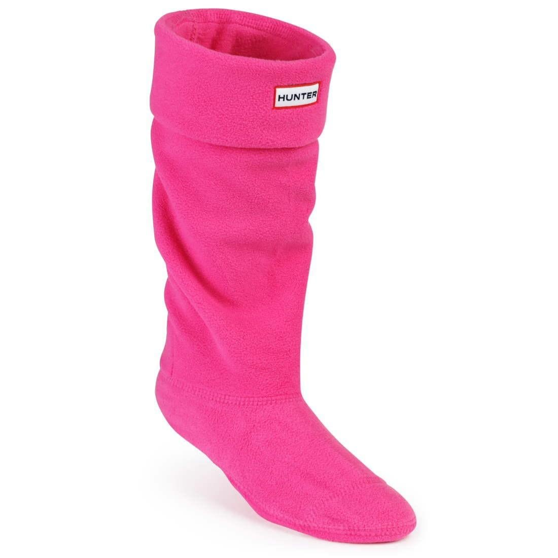 Носки Hunter Ladies Fleece Welly Fuchsia