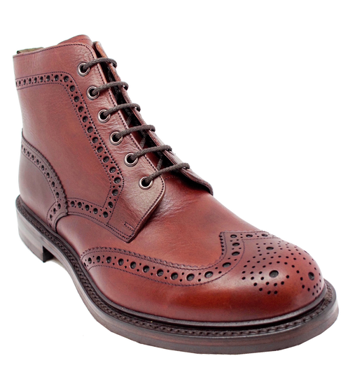 Loake Bedale Boot in Dark Brown