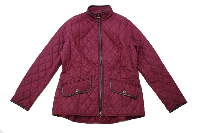 Куртка Barbour Stallion Quilted Red