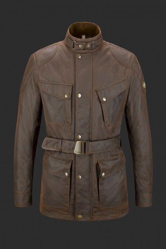 Matchless London Streetfarer Jacket In Antique Brown