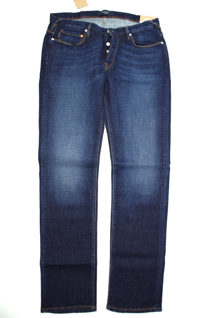 Paul Smith Slim Fit Jean in Dark Washed Denim