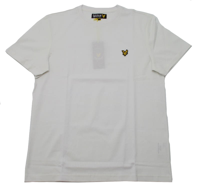 Футболка Lyle & Scott Vintage Crew Neck Jersey White
