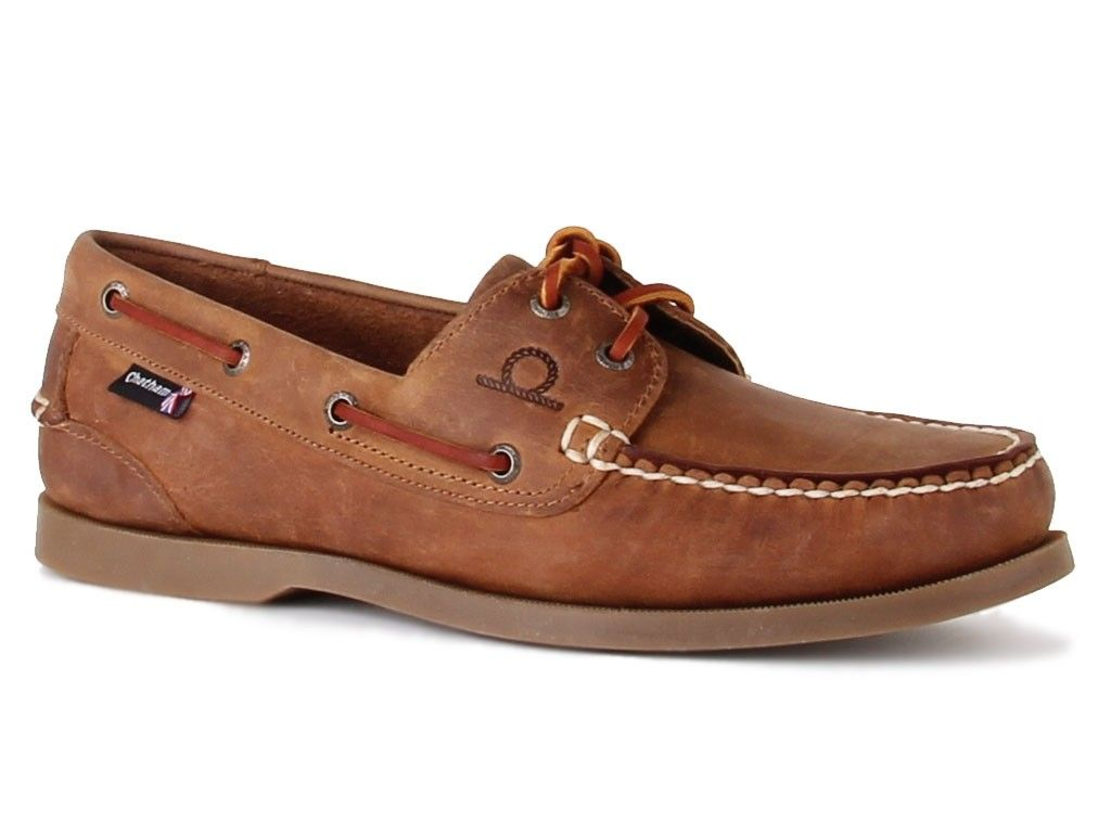 Мокасины Chatham Deck II G2 Boat Shoes in Walnut