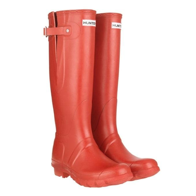 Сапоги Hunter Orginal Adjustable Unisex Wellys Red