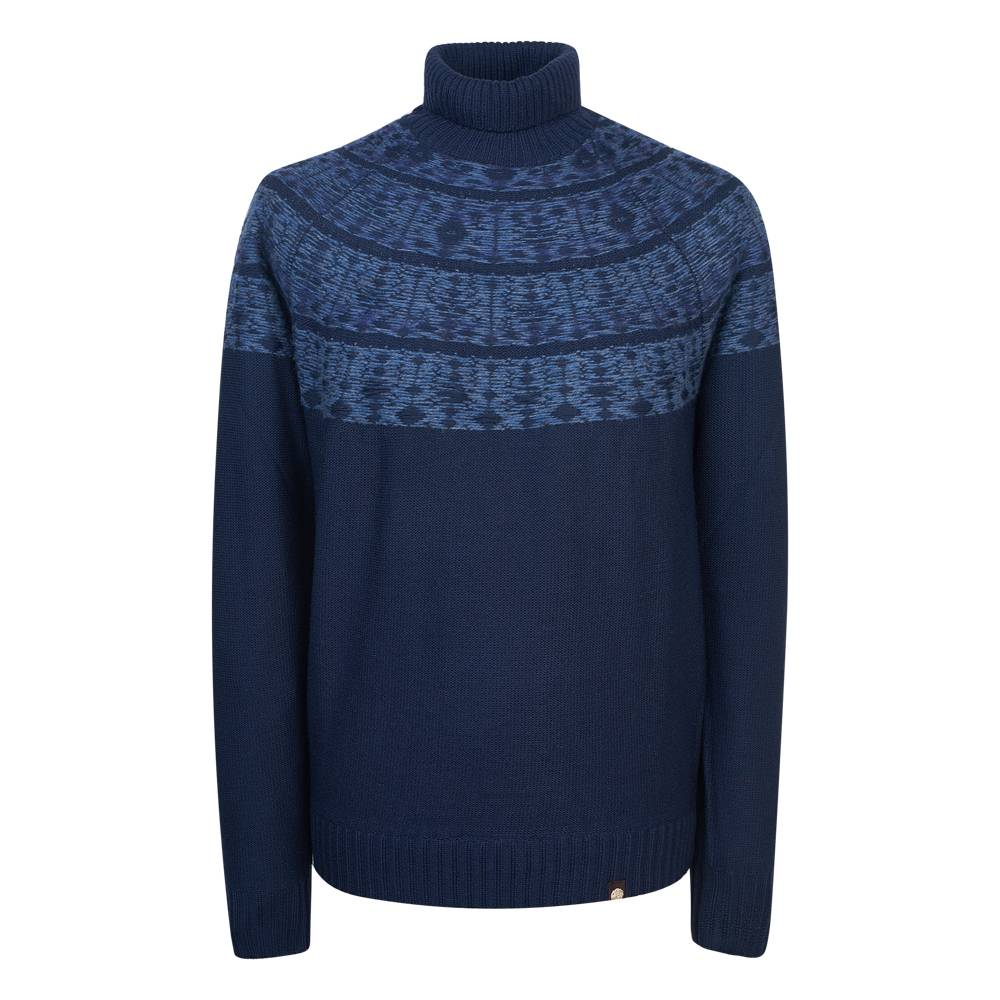 Свитер Pretty Green Abbott Roll Neck Navy