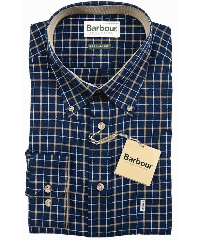 Рубашка Barbour Bank Check Navy