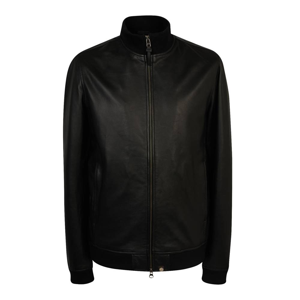 Куртка Pretty Green Rider Leather Black