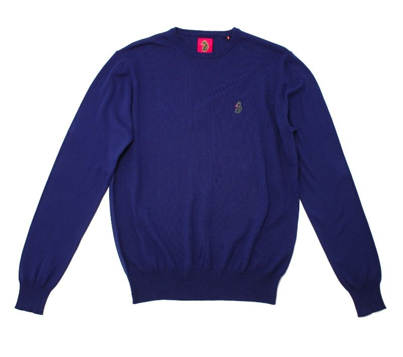 Свитер Luke Gerards Crew Neck Navy