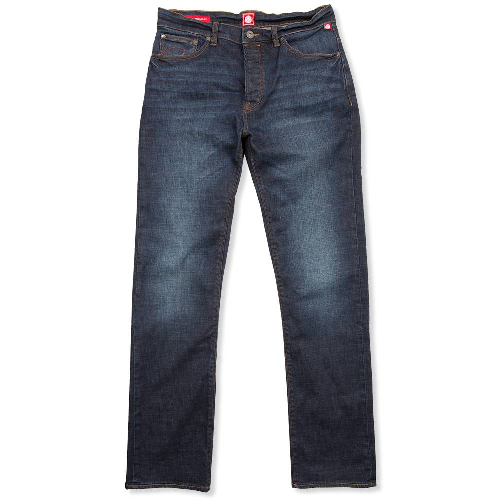 Pretty Green Burnage Regular Fit Jean In R 6-Month Wash