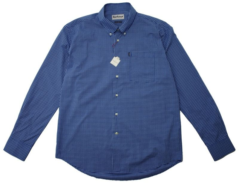 Рубашка Barbour Leonard Gingham Checked Navy