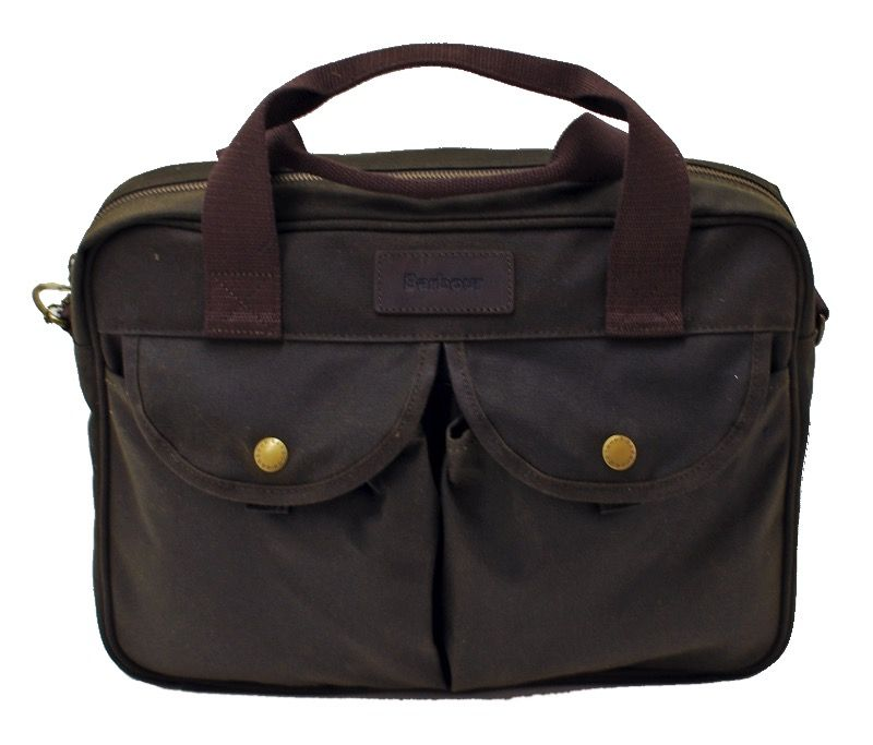Сумка Barbour Waxed Longthorpe Laptop Olive