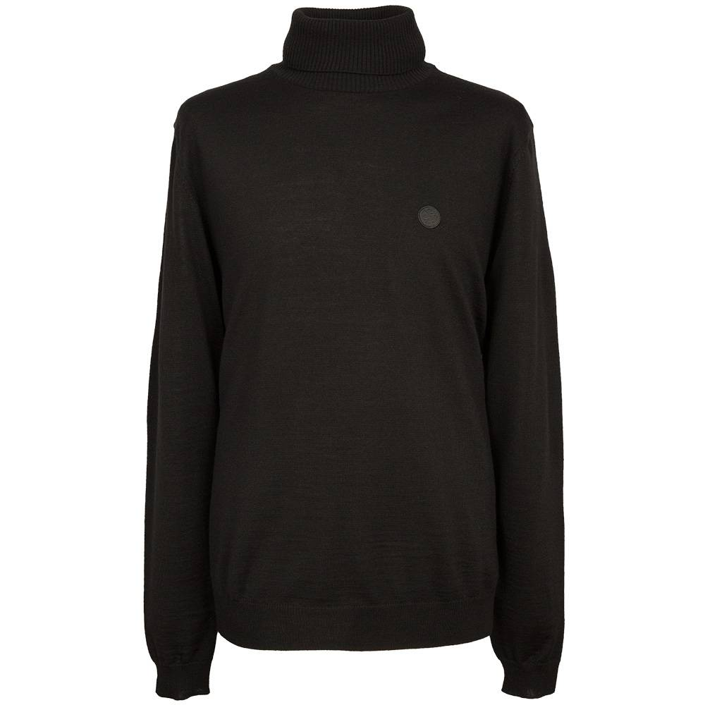 Свитер Pretty Green Harley Roll Neck Black