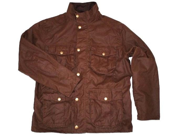 Куртка Barbour Men's New Utility Waxed Bark