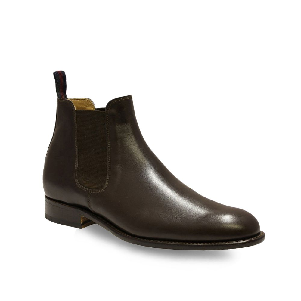Sanders Bucharest Chelsea Boot in Ebony.jpg