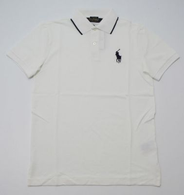 Ralph Lauren Pro Fit Polo in White