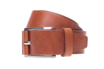John White 40mm Belt in Casual Cognac Calf